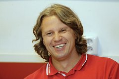 Trenér HC Olomouc Jan Tomajko