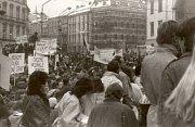Listopad 1989 v Olomouci