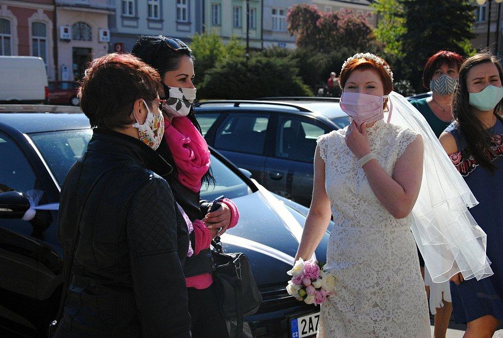 Svatba v době covidu. Ilustrační foto