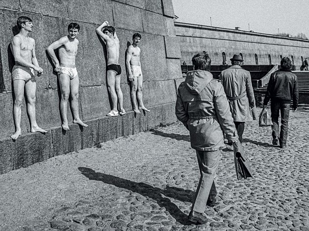 Leningrad 1982. Fotografie Vladimíra Birguse