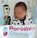 Matyáš Laštůvka, Olomouc, narozen 12. února ve Šternberku, míra 50 cm, váha 3250 g