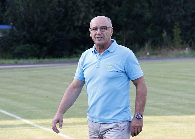 Radek Drulák jako trenér Bohuňovic