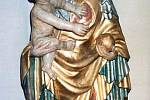 Cholinská madona - archivní snímek původní podoby