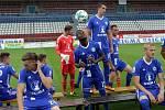 Fotbalisté Sigmy Olomouc se fotili před prvoligovou sezonou 2017/18