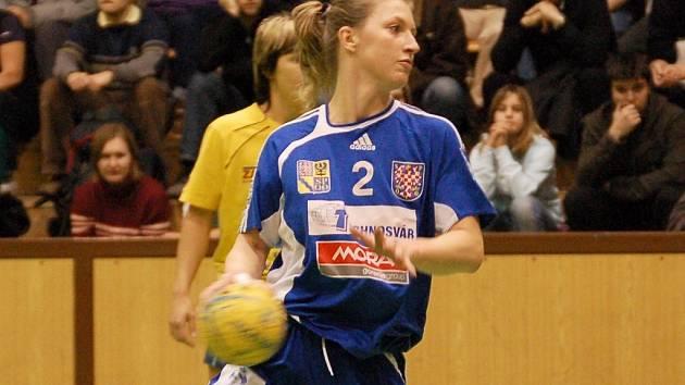 Veronika Hejtmánková střílí sedmičku.