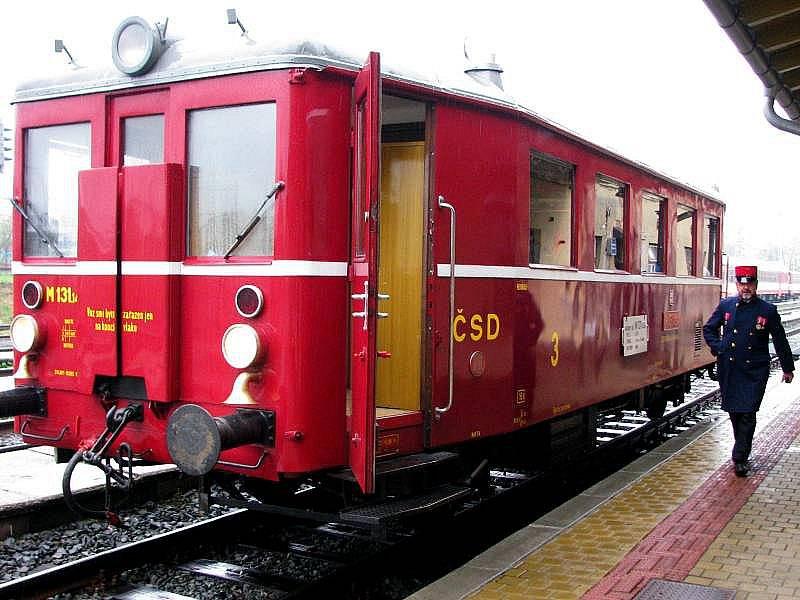 Historický motorák Hurvínek