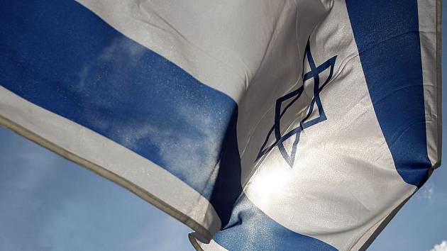 Izraelská vlajka. Ilustrační foto