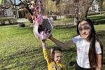 Velikonoční výzdoba v Mladějovicích, 1. dubna 2021