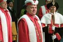 Rektor Univerzity Palackého Miroslav Mašláň