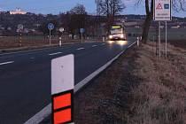 Nové bezpečnostní prvky na silnici z Olomouce do Samotišek