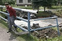 Ve středu 23. července se obcí Čirč na východním Slovensku přehnala povodeň.