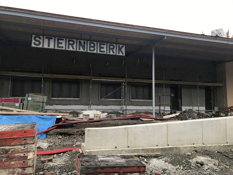 Nádraží ve Šternberku, 11. října 2020
