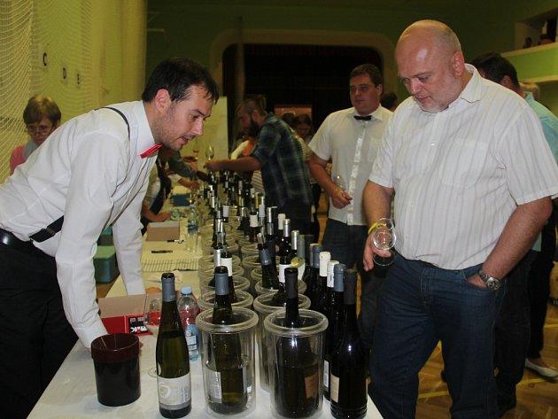 Vinobraní ve Štěpánově. Sommeliér David Pavlíček
