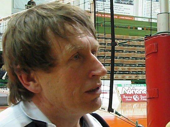 Trenér Jiří Teplý