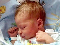 František Smrž, narozen 7. července v Olomouci, míra 49 cm, váha 2880 g