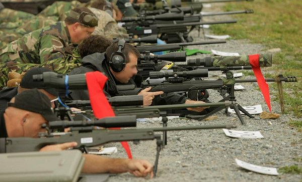 Policejní mistrovství odstřelovačů vDaskabátu