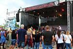 Festival Bounty Rock Cafe Open Air v areálu Korunní pevnůstky v Olomouci.