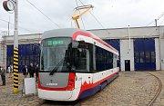 Představení nové tramvaje EVO 1 v Olomouci.