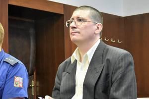 Pavel Nárožný u Vrchního soudu v Olomouci, 14. 8. 2019