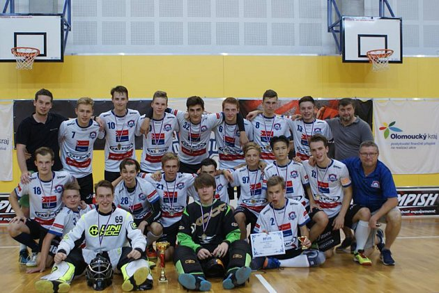 Junioři FBS Olomouc obsadili na loňském ročníku Moravian Cupu druhé místo
