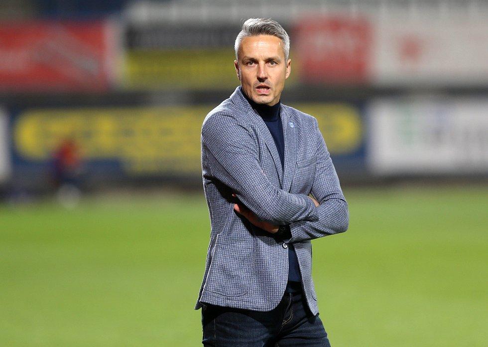 Trenér Sigmy U19 Tomáš Janotka