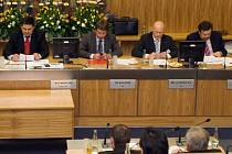 Rada města na zasedání olomouckého zastupitelstva. Ilustrační foto