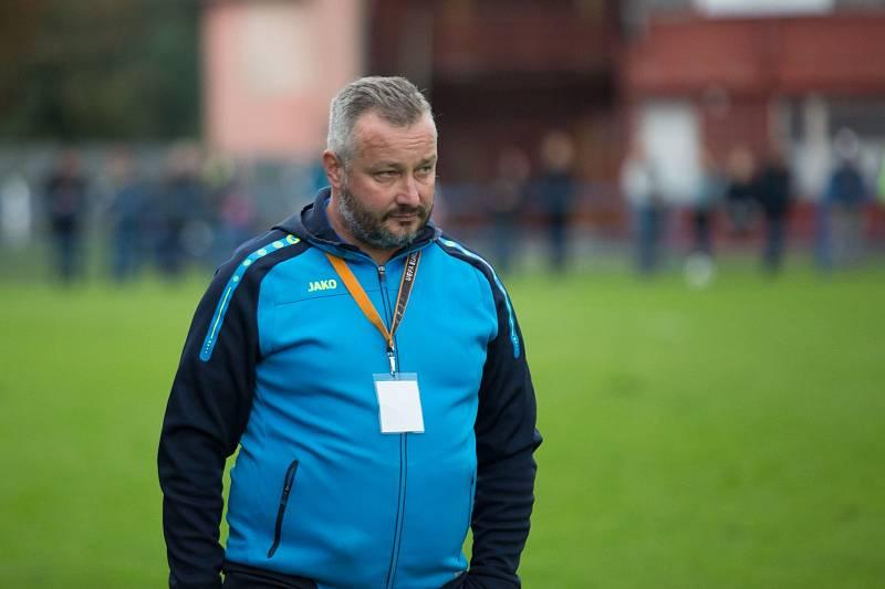 David Kobylík jako trenér Frenštátu