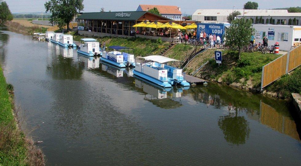 Baťův kanál v Uherském Hradišti