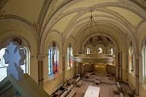 Úprava klášterní kaple Kongregace milosrdných sester III. řádu sv. Františka v Olomouci.