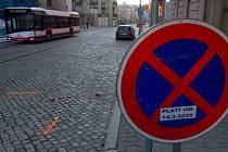 Ulici 8. května v centru Olomouce zavře oprava, neprojedou ani autobusy