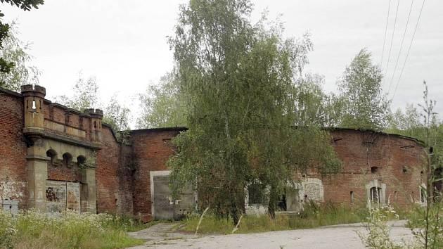 Fort v Bystrovanech.