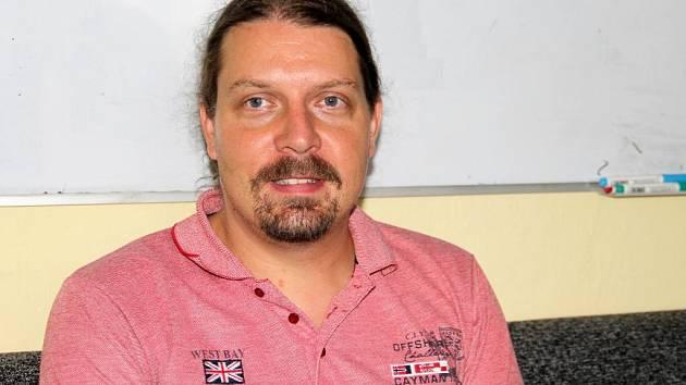 Psycholog Miroslav Charvát z Univerzity Palackého v Olomouci.