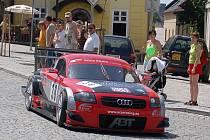 Milan Kašpárek (Audi TT-R DTM) sjíždí do depa.