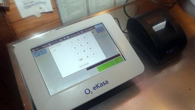 Registrační pokladna pro EET. Ilustrační foto