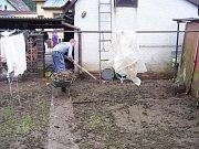 Pomoc SDH z Velkého Újezda v Jeseníku