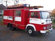 Technika dobrovolných hasičů z Velkého Újezda