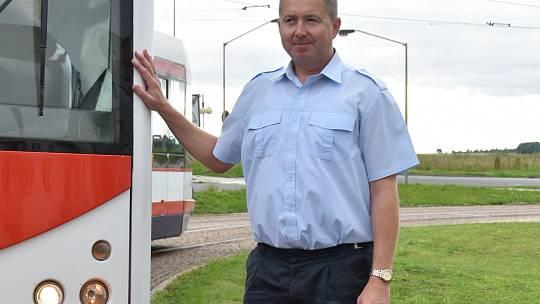 Karel Kráčmar, zaměstnanec Dopravního podniku města Olomouce