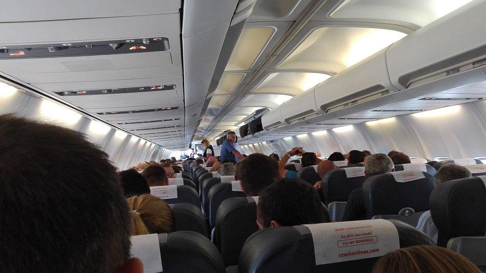 V letadle do Sevilly