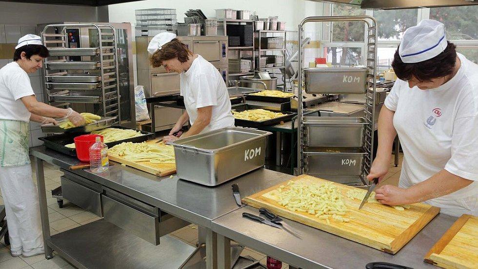 Školní kuchyně, ilustrační foto