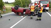 Dopravní nehoda u Velkého  Újezdu na Olomoucku