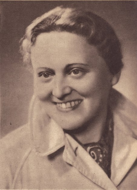 Zdena Mašínová starší.