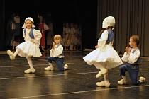 Děti z Baletního studia při Moravském divadle Olomouc byly i přes velkou mezinárodní konkurenci úspěšné.