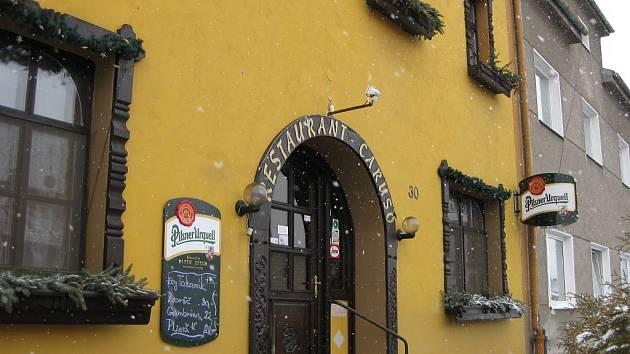 Restaurant a penzion Caruso, Olomouc