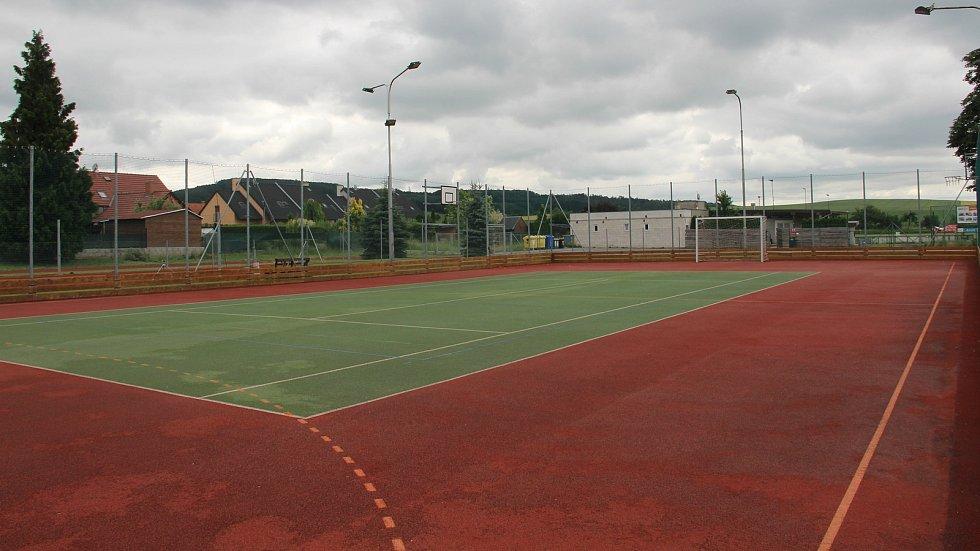 Ve Velkém Týnci mohou využívat moderní sportovní areál