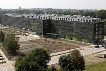Novostavba přírodovědecké fakulty na Envelopě