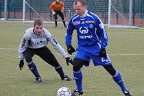Sigma v přípravě se Zábřehem: Tomáš Randa (vpravo)