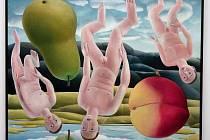 Islandský malíř Helgi Fridjónsson vystavuje v olomoucké Galerii Caesar