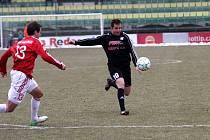 1. HFK Olomouc (v černém) vs. Viktorie Žižkov