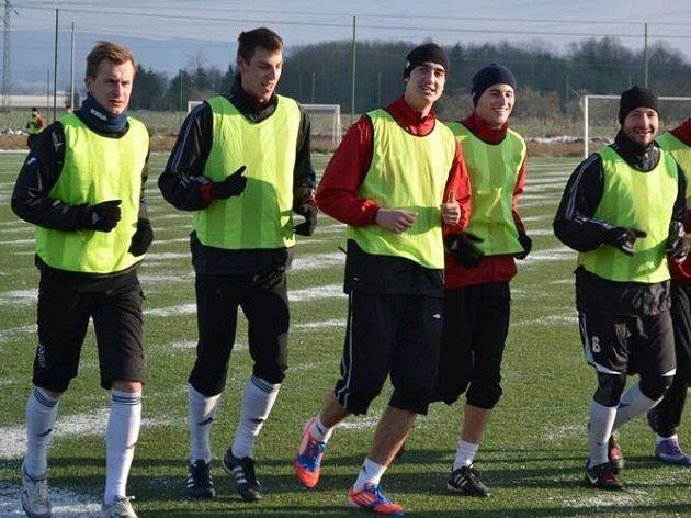 Fotbalisté 1. HFK Olomouc zahájili přípravu na jarní část druhé ligy.