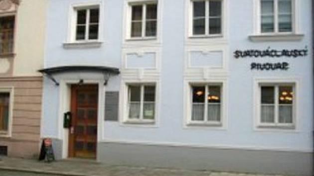 Svatováclavský pivovar v Olomouci